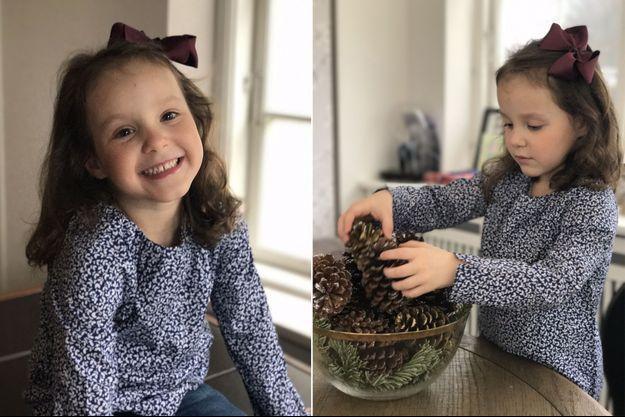 La princesse Athena de Danemark, fille de la princesse Marie et du prince Joachim, a 5 ans le 24 janvier 2017