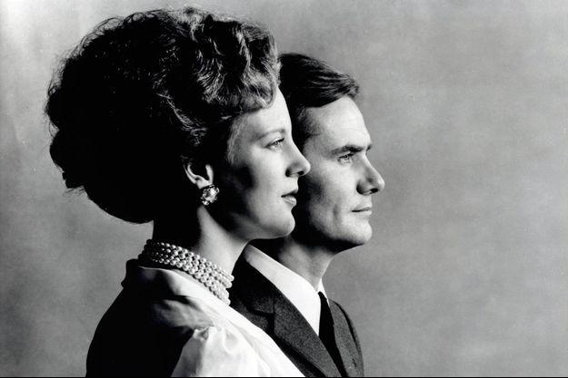 La reine Margrethe II et prince Henrik à 1972.
