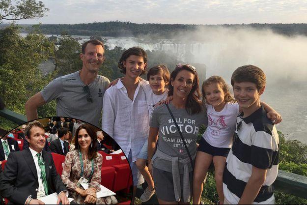 Comme la princesse Mary et le prince Frederik de Danemark, la princesse Marie et le prince Joachim sont au Brésil pour les JO de Rio