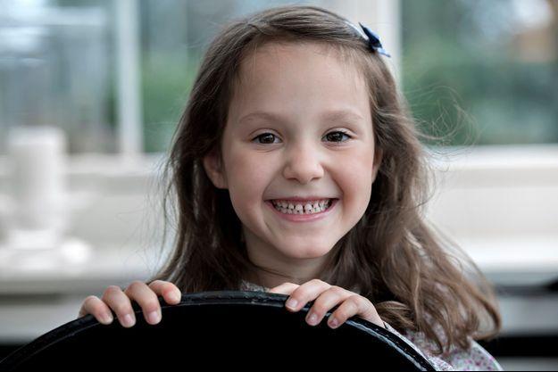 La princesse Athena de Danemark. Photo diffusée pour ses 6 ans le 24 janvier 2018