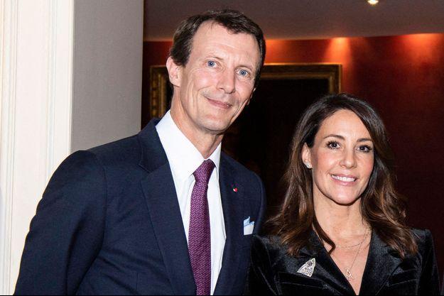 La princesse Marie et le prince Joachim de Danemark, le 15 janvier 2020