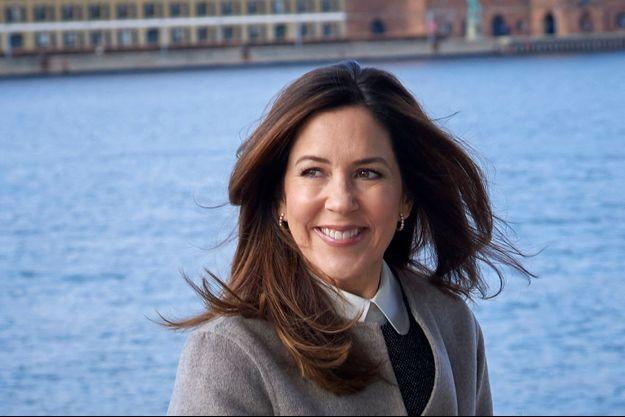 La princesse Mary de Danemark à Copenhague, le 27 février 2020
