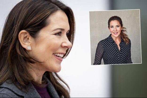 La princesse Mary de Danemark, le 26 octobre 2020 - En vignette: portrait diffusé pour ses 49 ans, le 5 février 2021