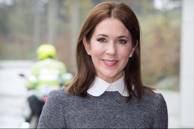 La princesse Mary de Danemark à La Haye, le 5 novembre 2015