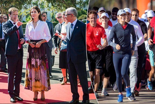 La princesse Mary de Danemark à Rabat au Maroc, le 4 octobre 2019