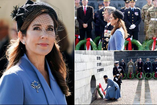 La princesse Mary et le prince héritier Frederik de Danemark à Copenhague, le 5 septembre 2020