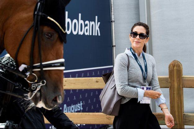 La princesse Mary de Danemark à Rotterdam, le 20 août 2019