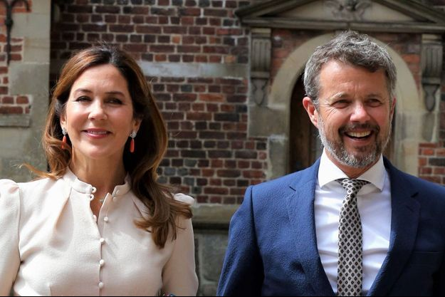 La princesse Mary et le prince héritier Frederik de Danemark, le 16 juin 2020