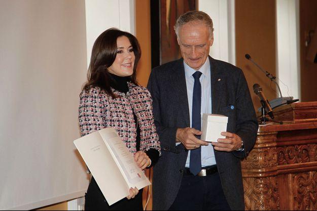 La princesse Mary de Danemark reçoit un prix à Copenhague, le 20 novembre 2018