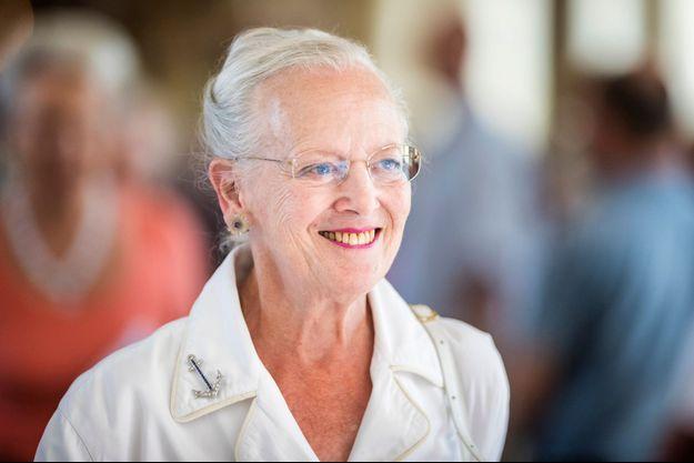 La reine Margrethe II de Danemark, le 29 juillet 2018