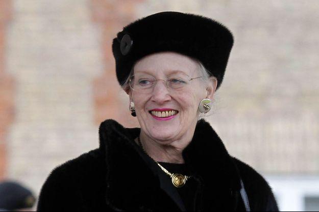 La reine Margrethe II de Danemark, le 14 mars 2018