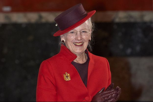 La reine Margrethe II de Danemark, le 27 novembre 2020