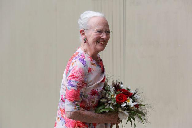 La reine Margrethe II de Danemark le 16 juin 2020