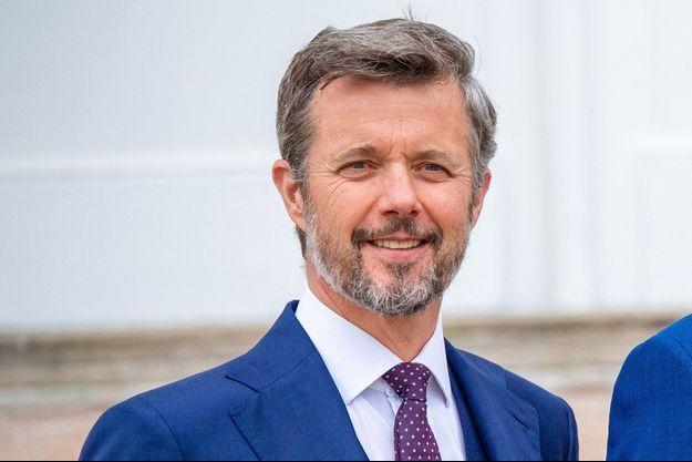 Le prince Frederik de Danemark à Fredensborg, le 15 mai 2021