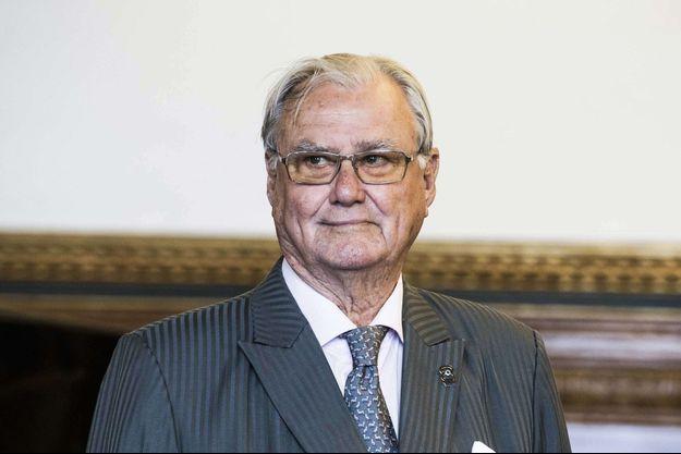 Le prince consort Henrik de Danemark le 7 juin 2017