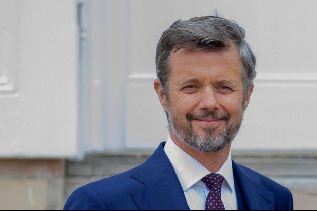 Le prince héritier Frederik de Danemark, le 15 mai 2021