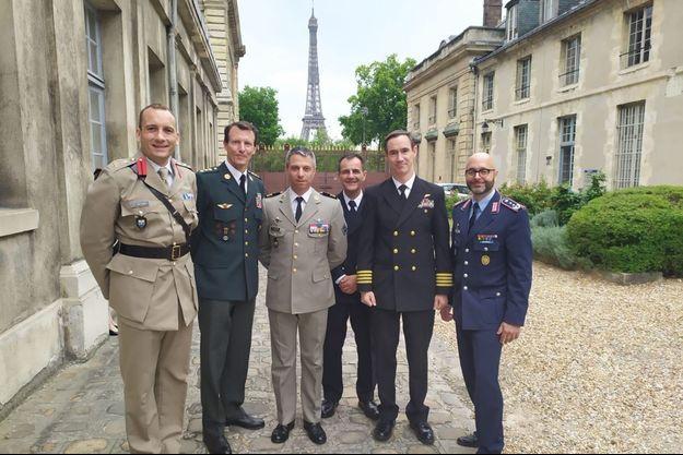 Le prince Joachim de Danemark à Paris, le 26 juin 2020