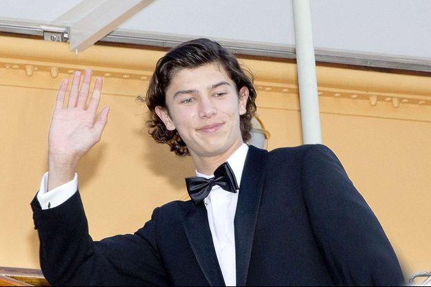 Le prince Nikolai de Danemark, le 28 août 2017, jour de ses 18 ans