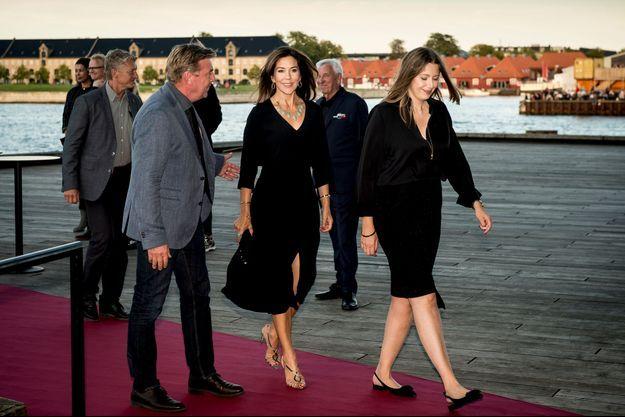 La princesse Mary de Danemark à Copenhague, le 16 août 2017