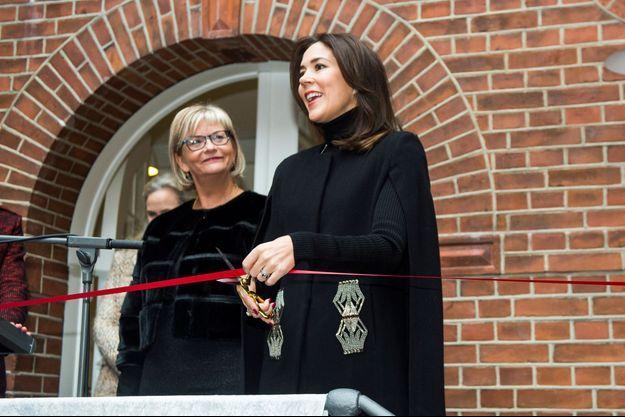 La princesse Mary de Danemark à Copenhague, le 18 novembre 2016