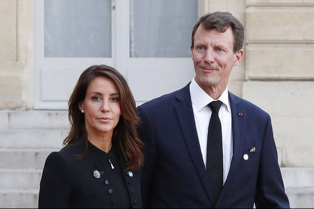 La princesse Marie et le prince Joachim de Danemark à Paris, le 30 septembre 2019