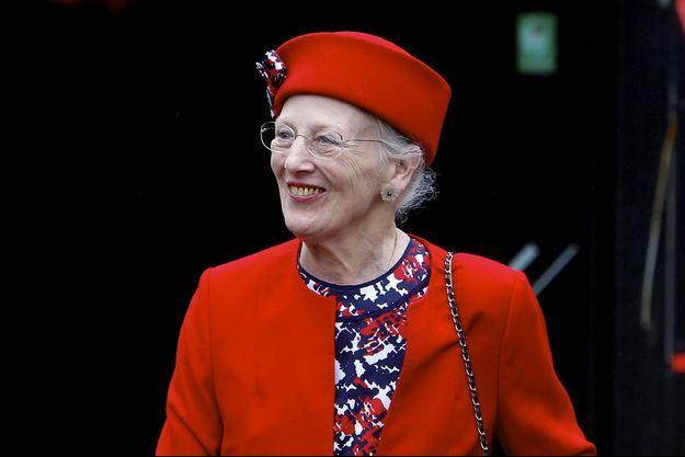 La reine Margrethe II de Danemark le 1er juillet 2017
