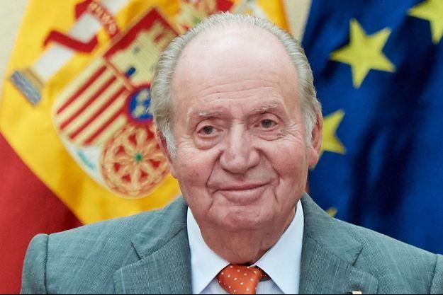 L'ancien roi d'Espagne Juan Carlos, le 14 mai 2019