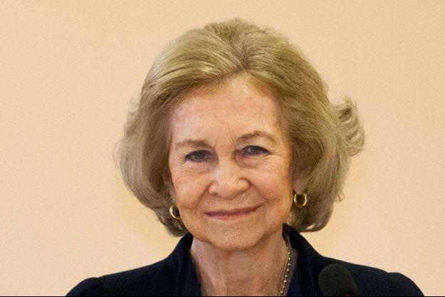 L'ancienne reine Sofia d'Espagne, le 11 février 2020
