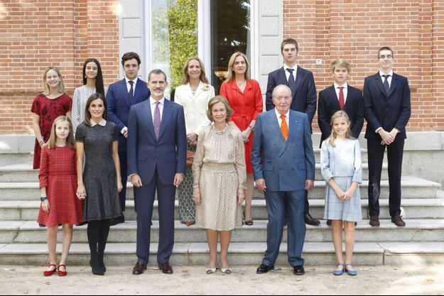 Photo des 80 ans de l'ex-reine Sofia d'Espagne, le 2 novembre 2018