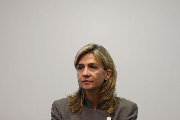 Cristina d'Espagne en 2009.