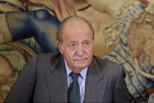 Juan Carlos en juin 2015
