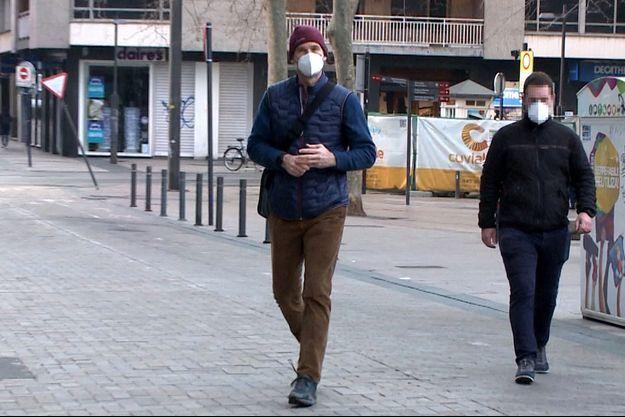 Iñaki Urdangarin arrive au cabinet d'avocats Imaz&Asociados à Vitoria, le 4 mars 2021