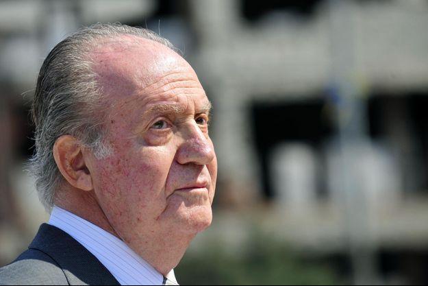 Le roi Juan Carlos en mars 2012.