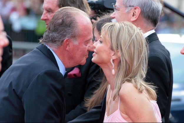 Juan Carlos d'Espagne et Corinna zu Sayn-Wittgenstein le 22 mai 2006.