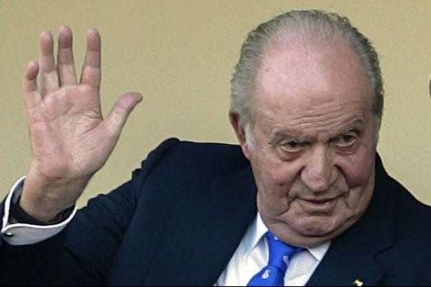 L'ancien roi d'Espagne Juan Carlos, le 2 juin 2019