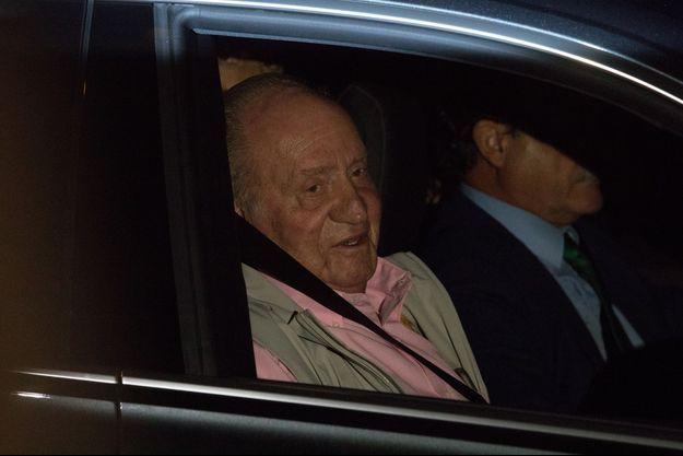 Juan Carlos, vendredi soir, veille de son hospitalisation.