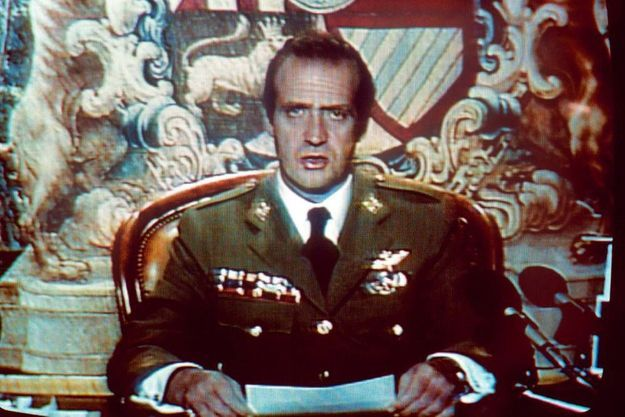 Il est 1 h 15 lorsque Juan Carlos s'adresse à la nation en direct de la Zarzuela pour s'opposer au putsch militaire.