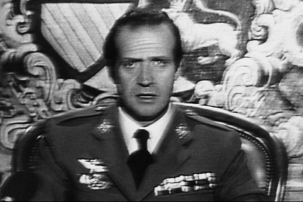 Juan Carlos, 43 ans, s'exprime à la télévision