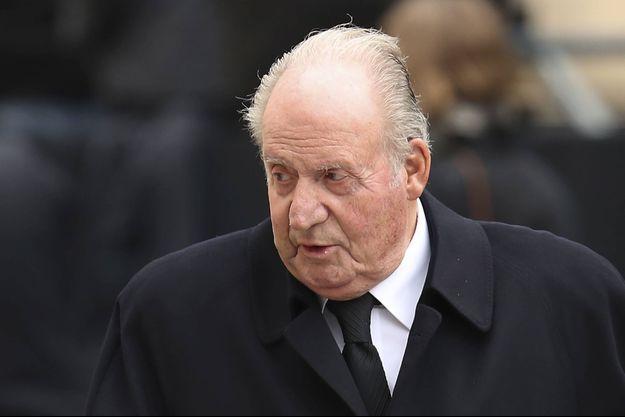 L'ancien roi Juan Carlos d'Espagne, le 4 mai 2019
