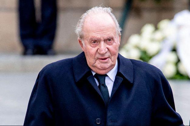 L'ancien roi d'Espagne Juan Carlos, le 4 mai 2019.