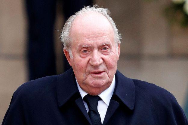 L'ex-roi Juan Carlos d'Espagne, le 4 mai 2019