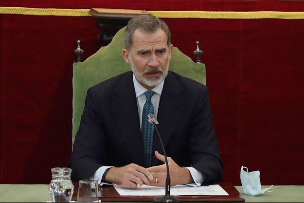 Le roi Felipe VI d'Espagne, le 11 novembre 2020