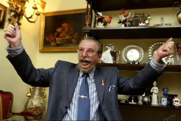 Leandro de Bourbon, grand-oncle du roi Felipe VI d'Espagne, le 29 mai 2003