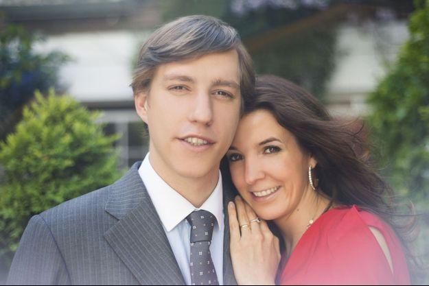 La princesse Tessy du Luxembourg, avec son époux le prince Louis en 2015