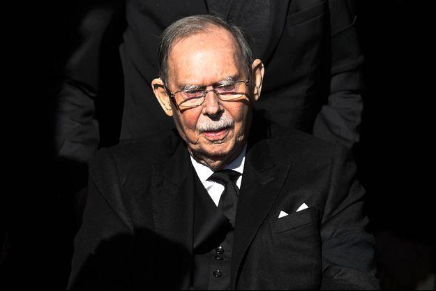 L'ex-grand-duc Jean de Luxembourg, le 16 février 2019