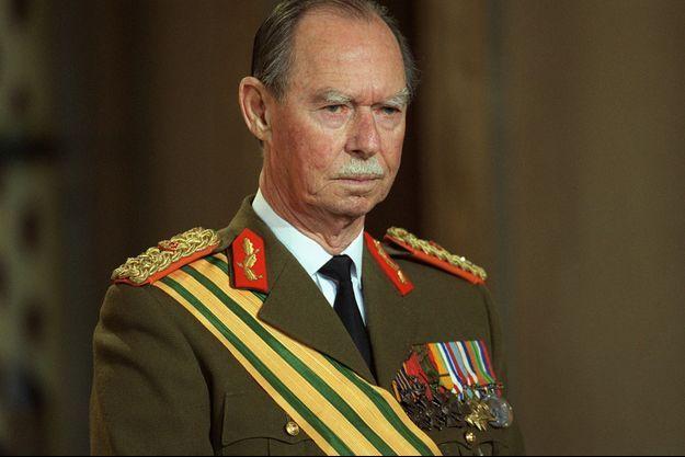 Le grand-duc Jean de Luxembourg, le 22 juin 2000