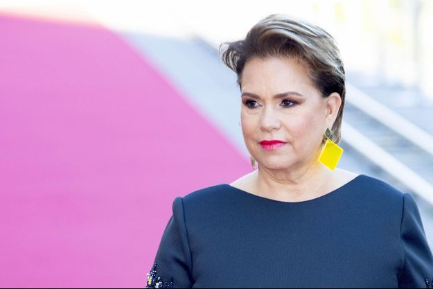 La grande-duchesse Maria Teresa de Luxembourg le 23 juin 2019