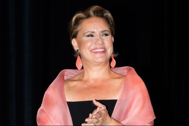 La grande-duchesse Maria Teresa de Luxembourg, le 23 août 2019