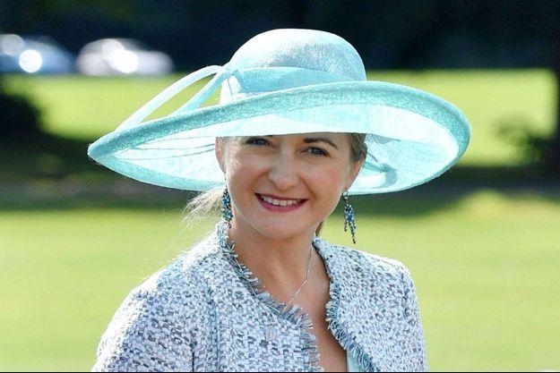 La princesse Stéphanie de Luxembourg le 11 août 2017