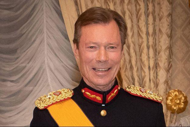 Le grand-duc Henri de Luxembourg, le 16 janvier 2020